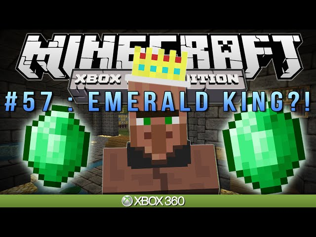 Minecraft Xbox  EMERALD KING?  Survival 57