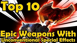 Top 10 Epic Weapons with Unconventional Special Effects in Classic WoW