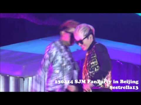 【Donghae Fancam】130414 SJM FanParty Beijing ~Hello~