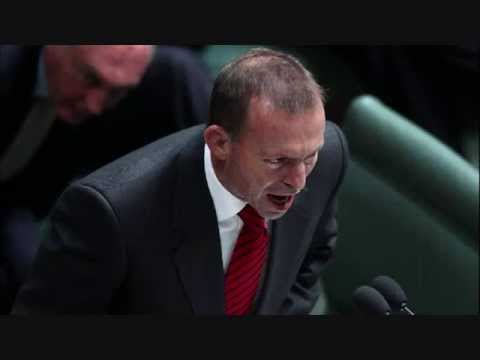 You don't have MY mandate Tony