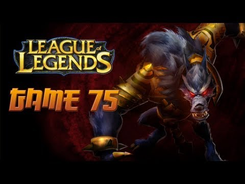 League of Legends Game 75 - Warwick Jungle