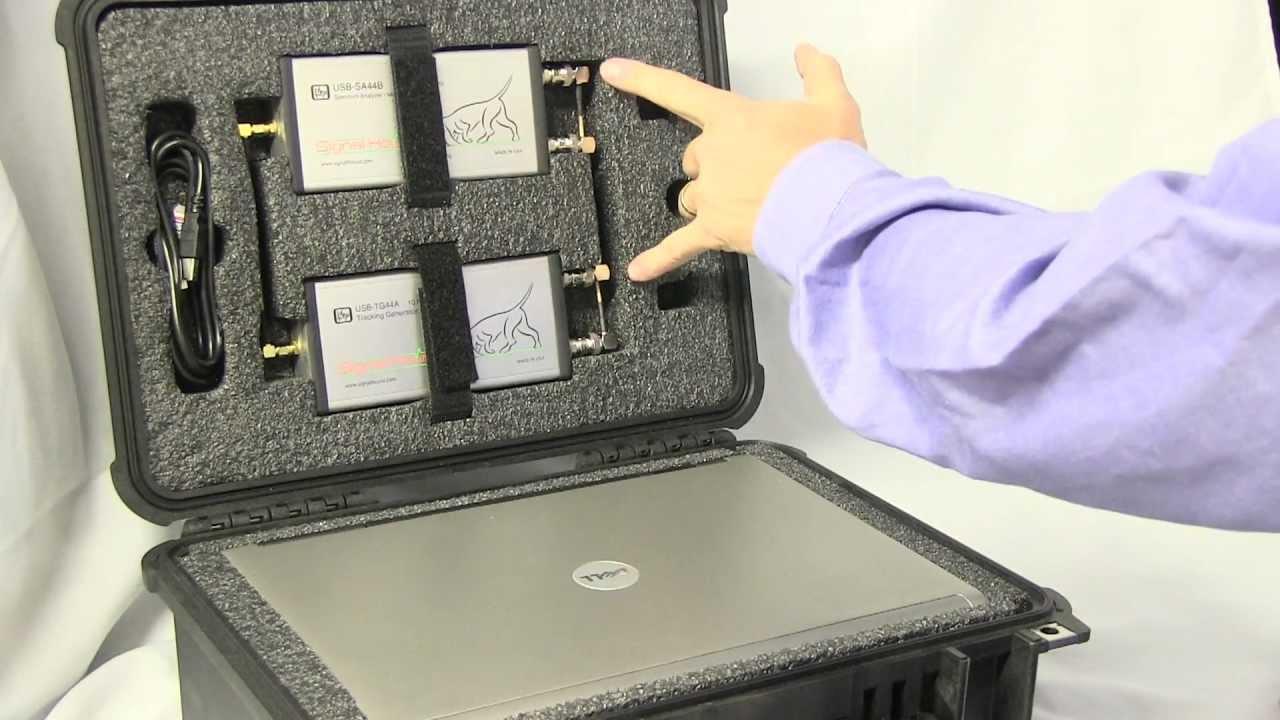 Signal Hound Kit A Convenient Rugged Feild Service Kit