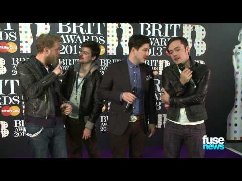 Mumford & Sons Steal BRIT Award @ BRIT Awards 2013