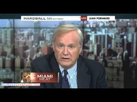 Crazy Chris Matthews: Stop Global Warming or Miami Will Be Turned Into a Hovering 'Atlantis!'