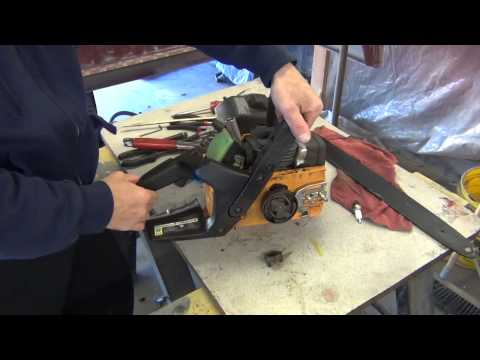 Poulan chainsaw repair.