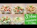 5 Idee Per Insalata Di Riso Wurstel Pesto Verdure Tonno Gamberetti E Salmone mp3