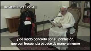 Romereports Vaticano Videos del Papa Francisco Homilias - El Papa pide la paz en Siria: La violencia debe parar
