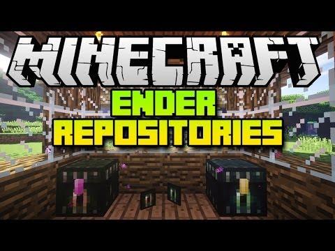 Minecraft Mods ENDER REPOSITORIES Mod (Mod Spotlight)
