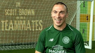Celtic FC - Teammates with Scott Brown