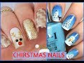 New Nail Art 💅 Nails Christmas 2017 💅 Nails Compilation 2018   Uñas Para Navidad