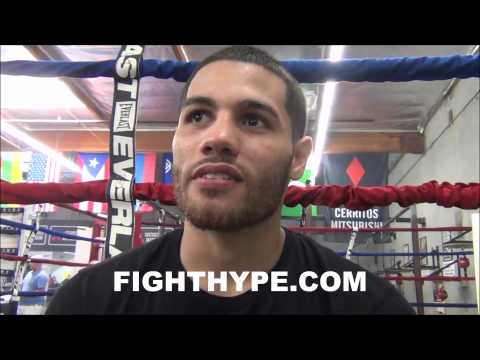 MICHAEL PEREZ STILL READY TO AVENGE ONLY LOSS TO OMAR FIGUEROA WEVE BEEN ASKING FOR THAT FIGHT