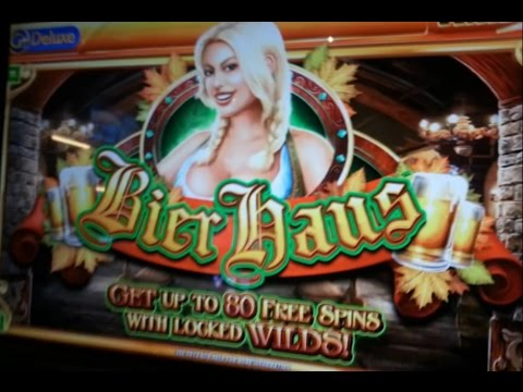 INCREDIBLE BIER HAUS JACKPOT!! 1500X BET!!!
