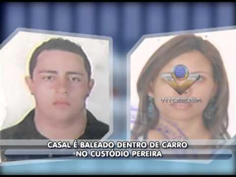 Casal é baleado no bairro Custódio Pereira - parte 1