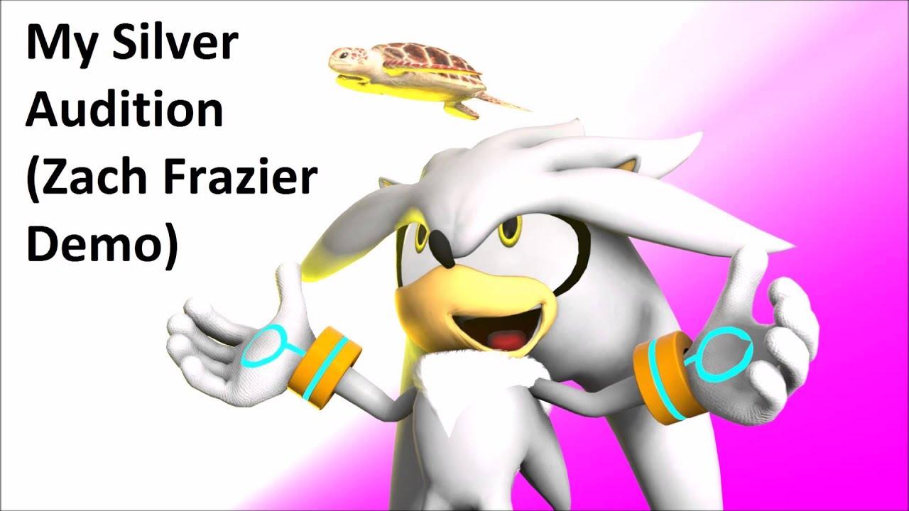 Zachary The Hedgehog Silver the Hedgehog  Sonic