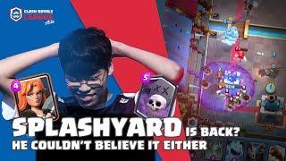 UNBELIEVABLE SPLASHYARD DECK | Fuchi vs X bow master | CRL Asia