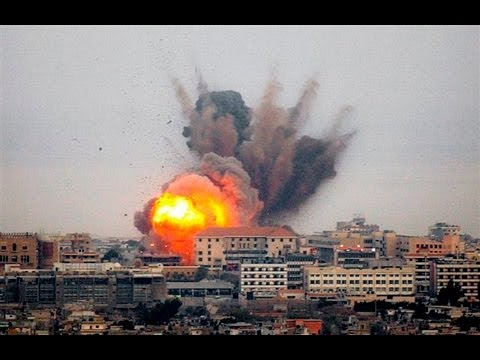 GAZA Conflict Escalates - Israel and Hamas Continue Fight