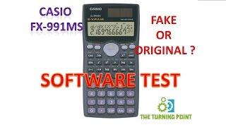 CASIO FX 991MS FAKE OR ORIGINAL