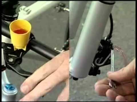Bleeding Shimano BR-M575 brakes