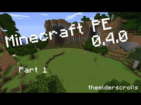 SO MANY COWS - Minecraft PE 0.4.0 [Part 1/3]