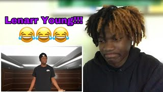 Reacting To Lenarr Young - Record Label tryouts!!!😂😂🤣
