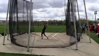 Justin Welch Hammer Throw 69.61m
