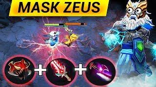 MASK OF MADNESS ZEUS DOTA 2 PATCH 7.13 NEW META FUNNY GAMEPLAY