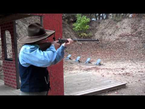 C Sharps 50-140 cal rifle...first shots.
