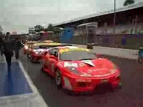 European Championship Auto Racing on Monza  Fia Gt3 European Championship 2008