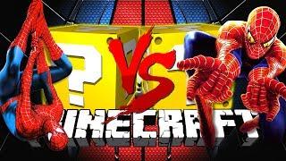 Minecraft: SPIDERMAN LUCKY BLOCK CHALLENGE | DEATH RUN CHALLENGE!!