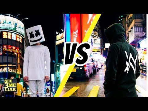 Alan Walker - Alone Vs. Marshmello - Alone