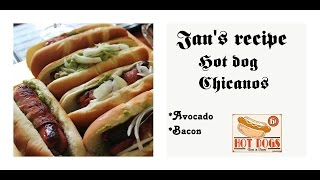 hot dog chicanos | recipe |como hacer