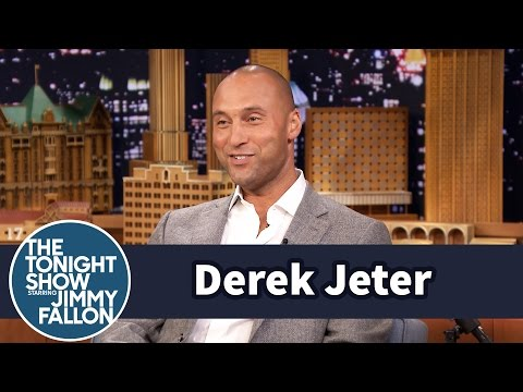 Derek Jeter Talks Retiring His Jersey
