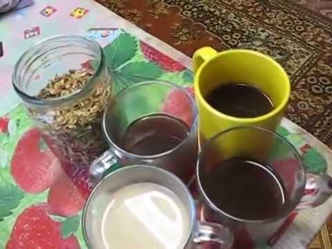 Семья Бровченко. Как делать кофе из одуванчиков. Вкусно и можно давать детям.