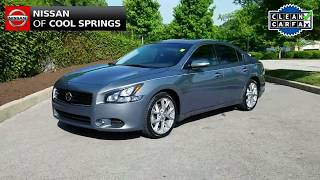 FB 2011 Maxima SV Sport at Nissan of Cool Springs - Low Miles and Priced Right!