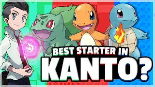 What Is The Best Starter Pokemon? (Kanto) Feat. Axellian