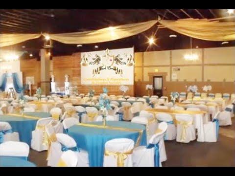 Faos events decoracion dorado y azul turquesa en el ta o for Decoracion petrole azul