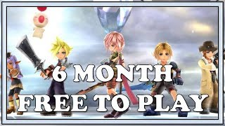 6 Month Free To Play Account - Dissidia Final Fantasy Opera Omnia