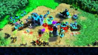Warcraft vs Starcraft Mod -- Dec 2010 Art Pack imported into WC3