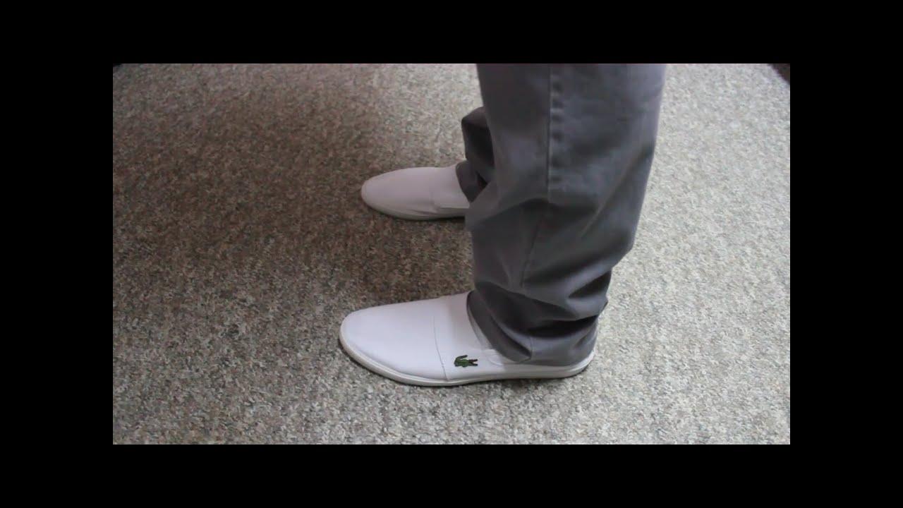 White Minimal Shoes Mens