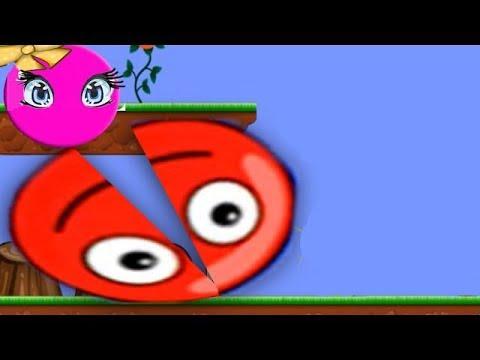 Red BALL. Красный шарик 6 [1]. Мультик игра для детей.