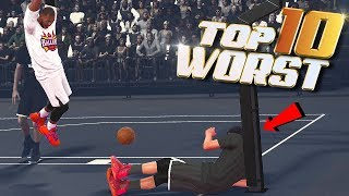 TOP 10 WORST Things That Could EVER HAPPEN To YOU - NBA 2K18 Highlights