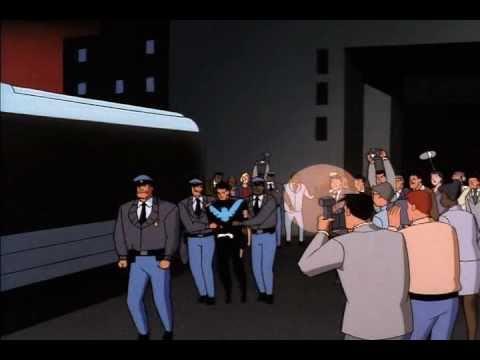 Nightwing vs. Gotham Cops