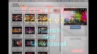 download lagu Youtube  Search Engine Php Script V3.00 gratis