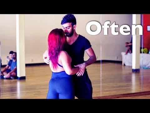 The Weeknd - Often Dance | Zouk | Thayná Trovick & Léo Chaffe at Zouk Atlanta