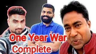One year War complete ft Technical Guruji and My Smart Support And many more|| by technical boss