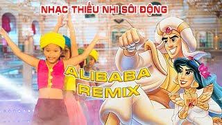 ALIBABA REMIX - Nhạc thiếu Nhi Sôi Động | Chiếc Thuyền Nan Remix, Siêu Nhân Cười, Nhạc bé yêu remix