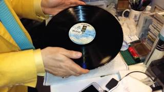 How to remove crackles from a badly used vinyl with WD-40? 如何除去舊唱片的【炒豆聲】?  www.recordmuseum.hk