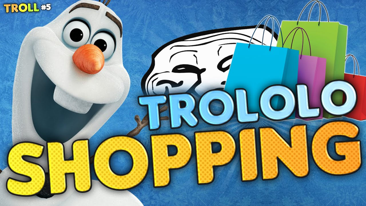 TROLOLO SHOPPING SNOWMANS (Minecraft Mr.Troll #5) - YouTube