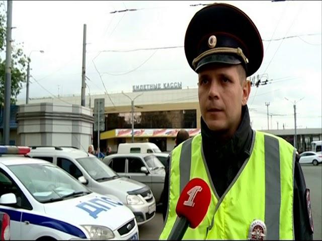 Сотрудники ГИБДД снова устроили «охоту» на таксистов-нарушителей у Ярославля-Главного