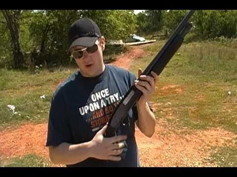 Shooting the Mossberg Maverick 88 12 gauge shotgun